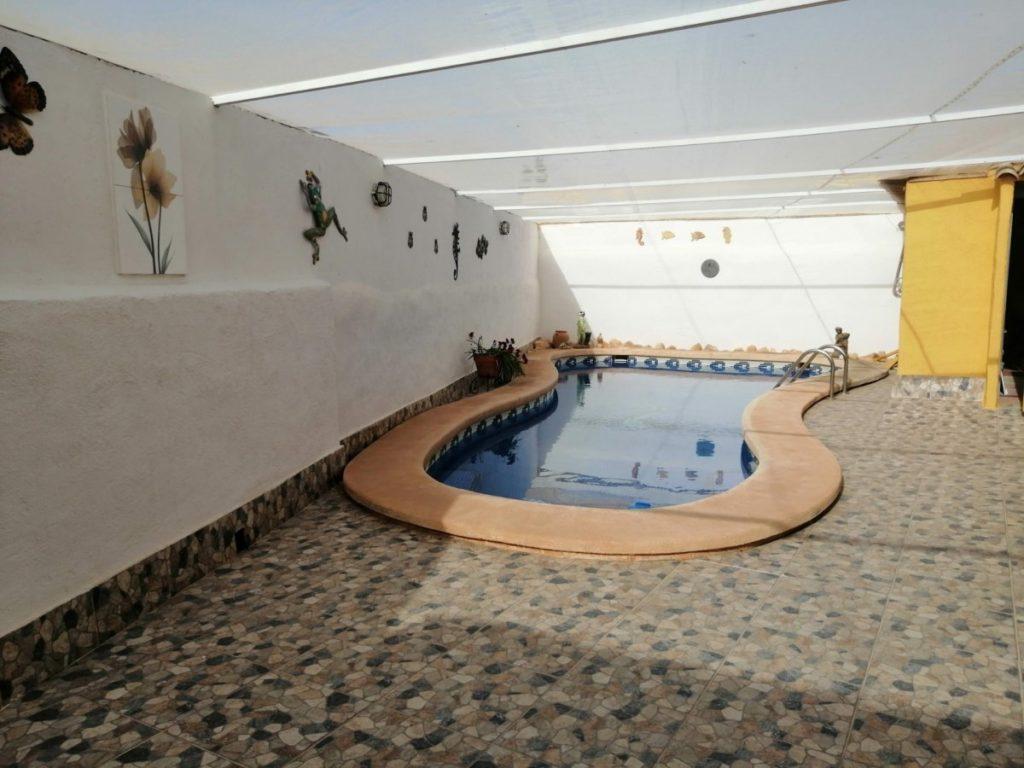 piscina casa de campo pinilla