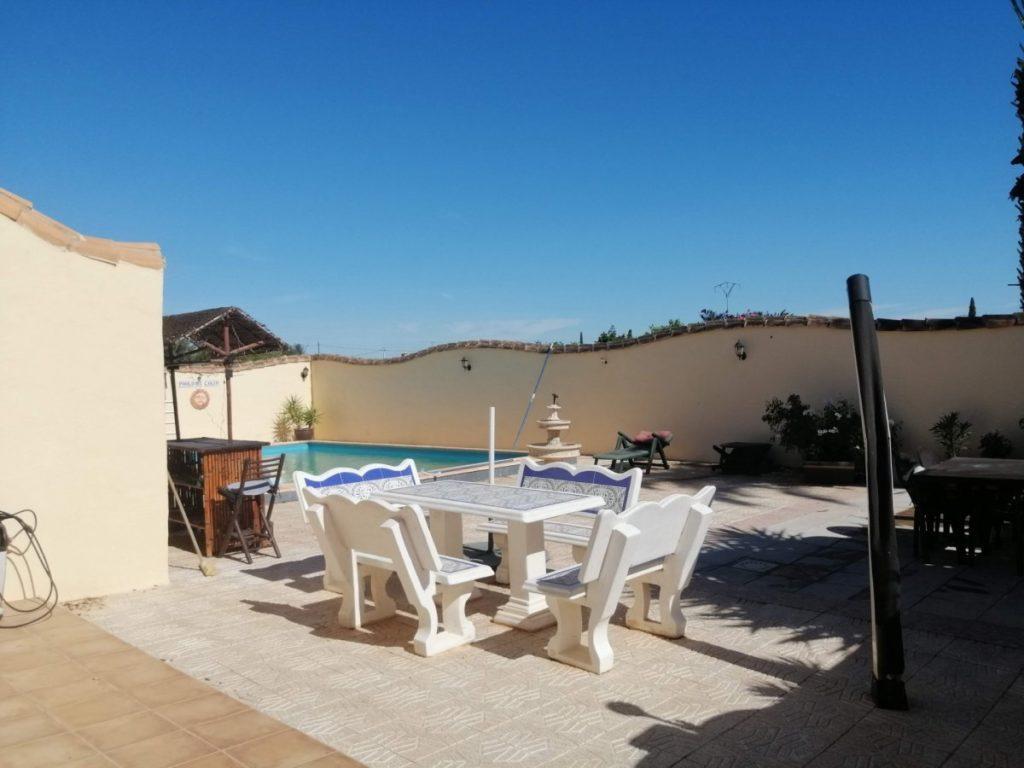 villa con terraza cartagena