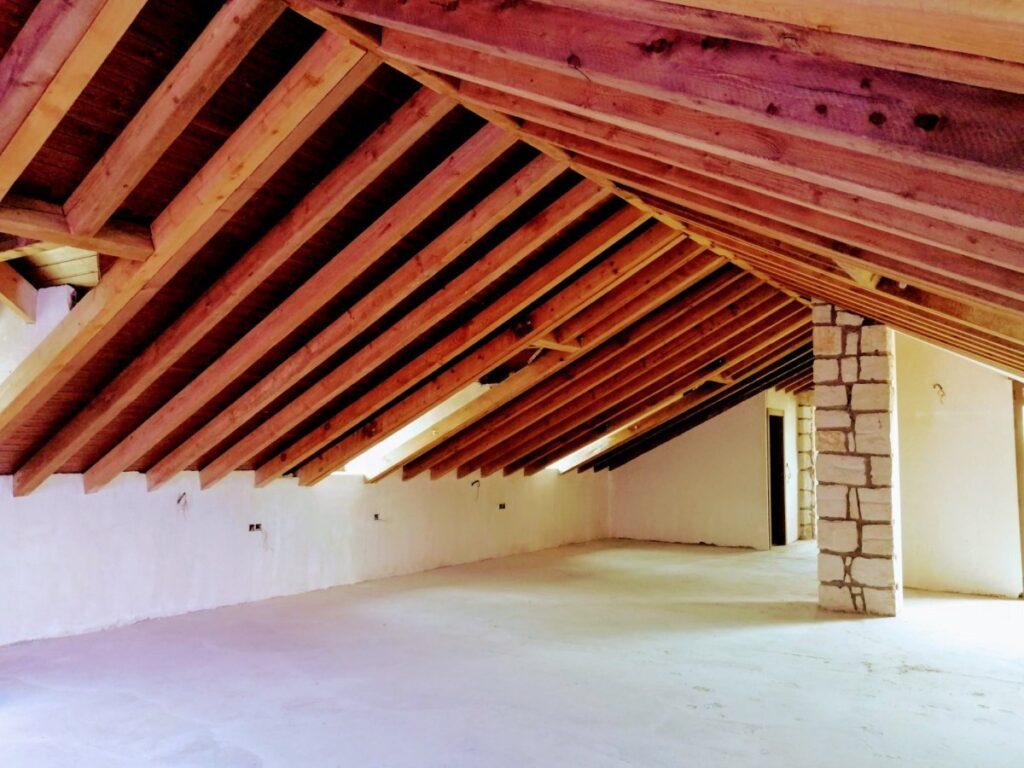 Interior villa castillo Lorca