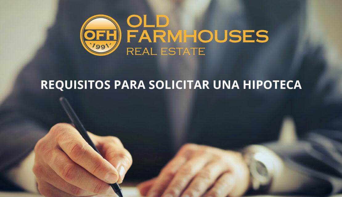 Requisitos para pedir una hipoteca: documentos, situación y todos los demás aspectos necesarios